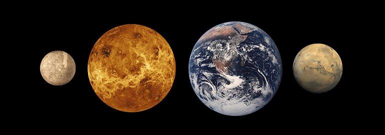 Οι κοντινότεροι πλανήτες στον Ήλιο