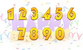 Ο αριθμός της ημερομηνίας γέννησης